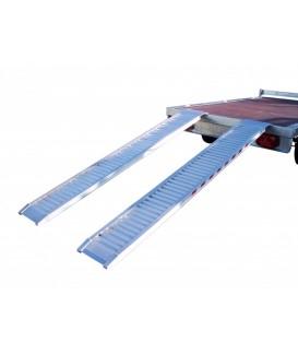 Rampe de chargement aluminium 1250 kg / 2000 kg Loisirs Caravaning