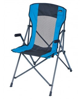 FAUTEUIL TENSION GRIS/TURQUOISE Loisirs Caravaning