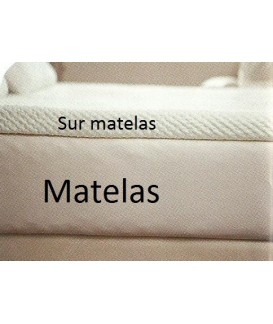 MATELAS A MEMOIRE DE FORME SIMPLE (Max 80 x 190 x 15 cm) Loisirs Caravaning