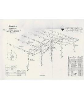 ARMATURE AUVENT CLAIRVAL AKINOX K10 à N13 Loisirs Caravaning