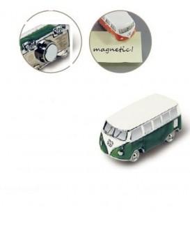 MAGNET AIMANTE COMBI VW VERT Loisirs Caravaning