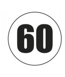 DISQUE ADHESIF 60 KM/H Loisirs Caravaning