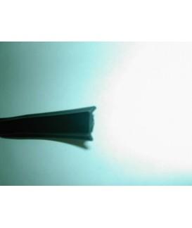 GALON DE RAIL NOIR INTERMEDIARE 16mm Loisirs Caravaning