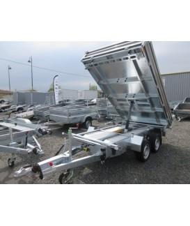HUMBAUR TRI-BENNE ALU 3500 Kg Réf HTK 3500.37/ 3023 Loisirs Caravaning