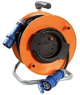 ENROULEUR 230V CEE 16A / 25M / 3x2.5 mm² Loisirs Caravaning