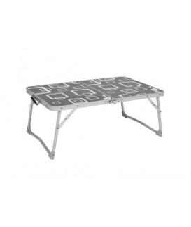 TABLE VALISE MINI GRISE Loisirs Caravaning